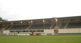 Construction d'une tribune de foot pour l'Excelsior de Virton.